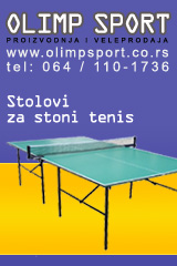 Olimp sport, Belgrade - stolovi za Table Tennis